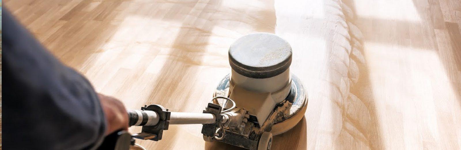 Vloer schuren, oliën en/of lakken