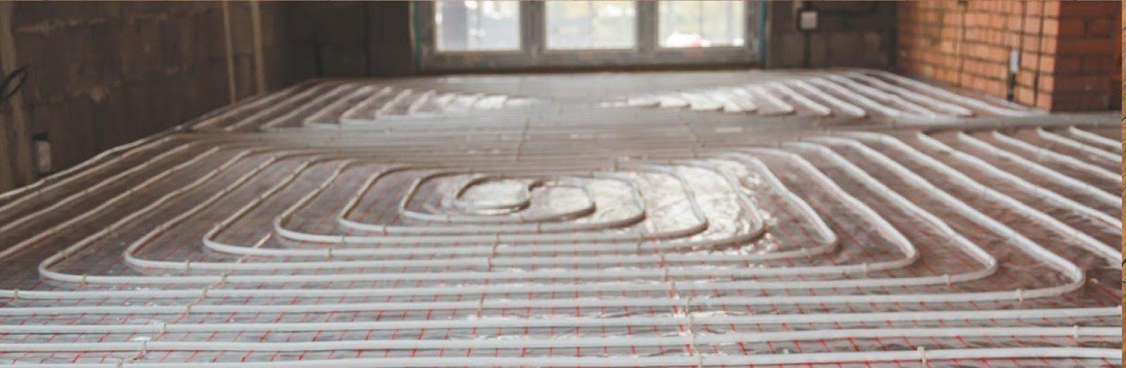 Vloerverwarming installeren of vervangen